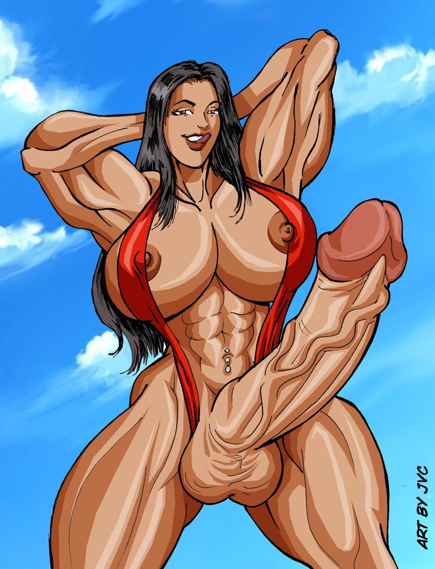 muscle futanari porn